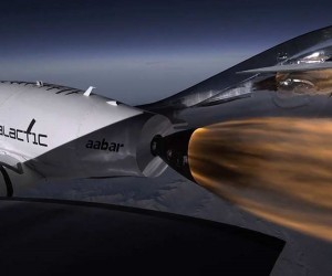Virgin Galactic space tourism ships