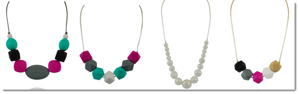 fashionable teething jewelry from Wear Tough