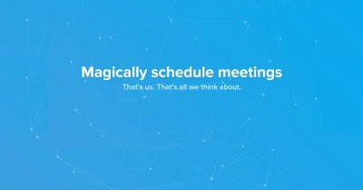 magically schedule meetings
