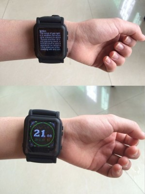 smartwatch designed for cheating and sold on Amazon