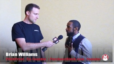Brian Williams, founder of Pitch Proof and Purchase Black