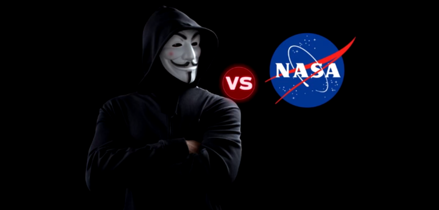 Anonymous taking down NASA
