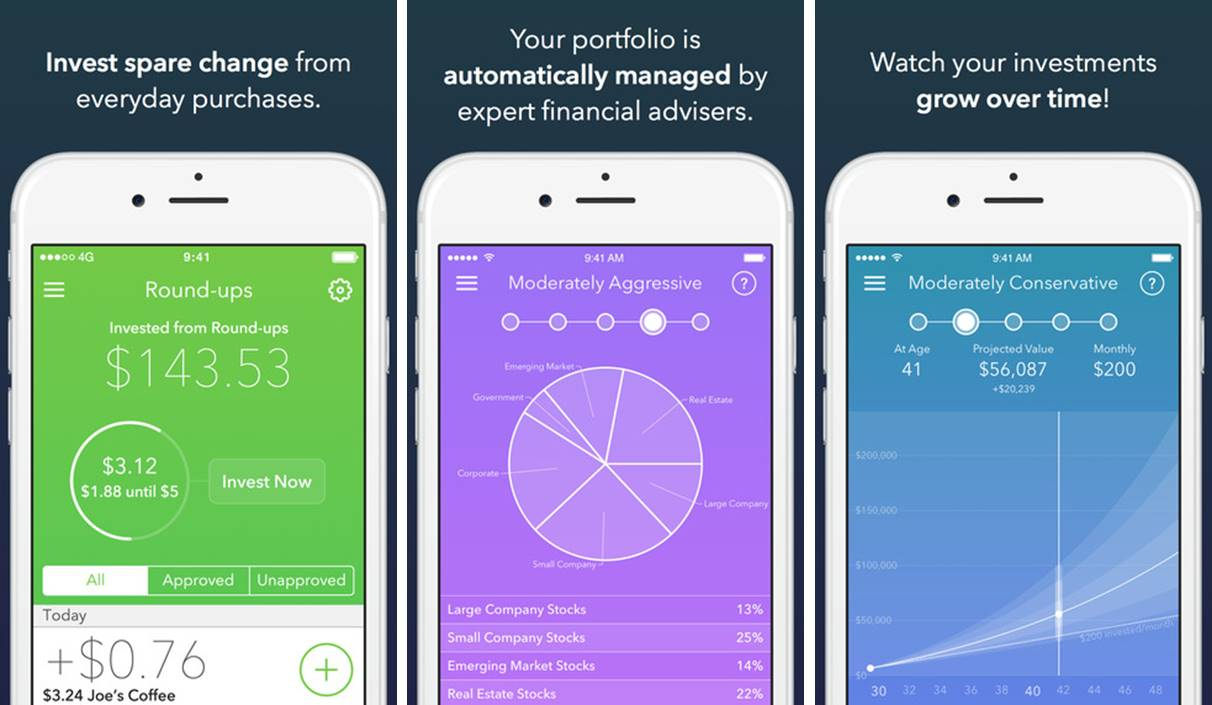 Acorns money saving and investing app