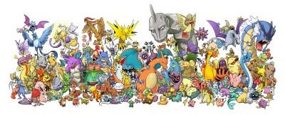 universe of Pokeman characters