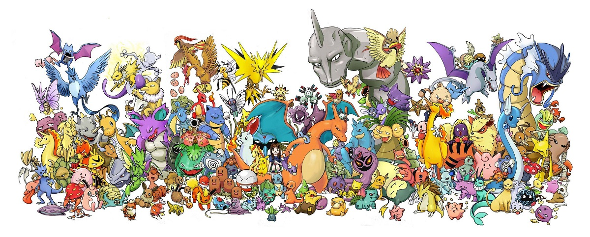 universe of pokeman characters