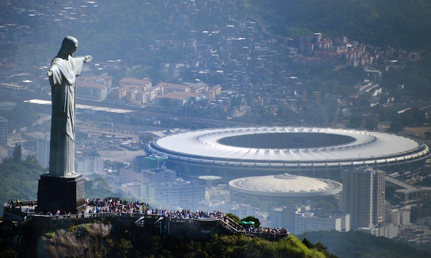 Olympic stadium in Rio