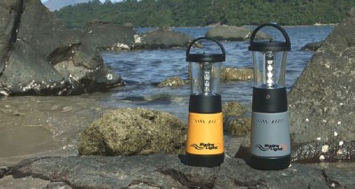 hydralight salt water lamp and phone charger