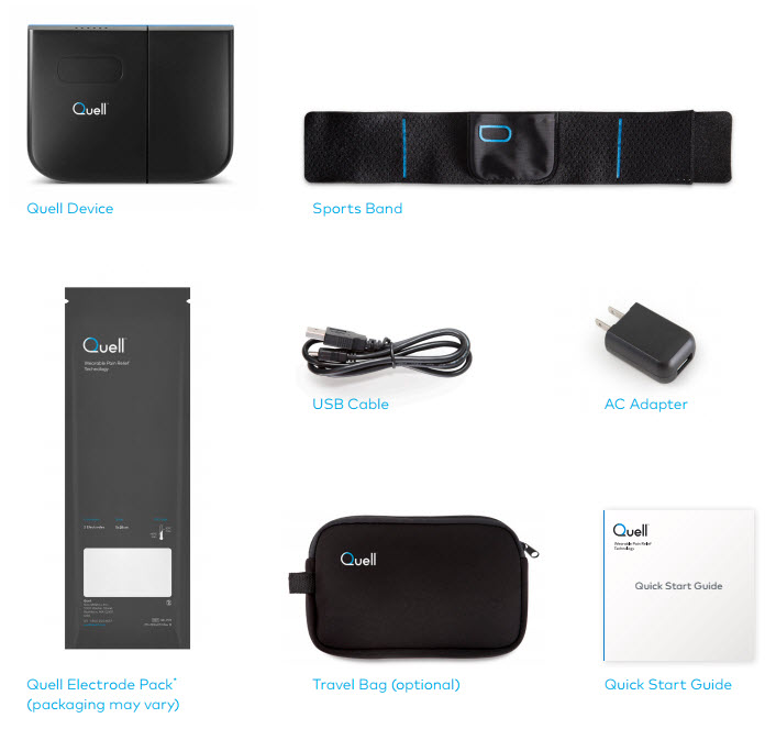 chronic pain management smart device from Quell