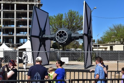 real life size TIE fighter sxsw