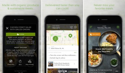 sprig organic meal app