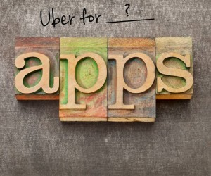 Uber for blank apps