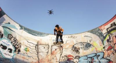 dronewithself flyingcamera