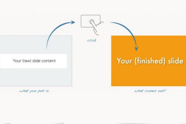 designing slide presentations with Slidebean