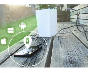 Bioo Uses Photosynthesis to Make Plants Phone Chargers