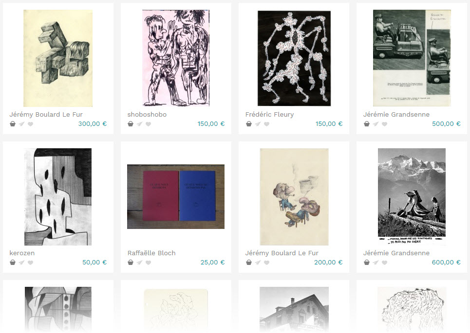 art collection from I Want to Buy Art, an online marketplace for artists