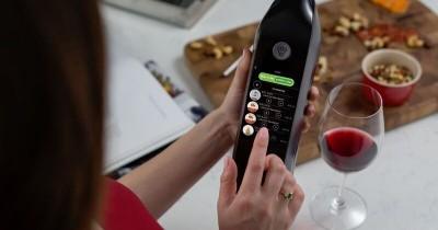 kuvee smart wine bottle
