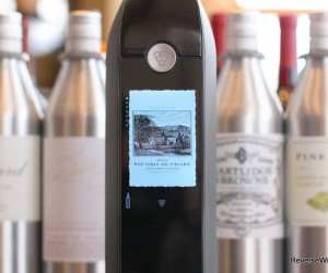 Now There's a Wi-Fi Enabled Wine Preserver Bottle with a Touch Screen
