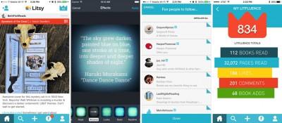 listy app screenshots