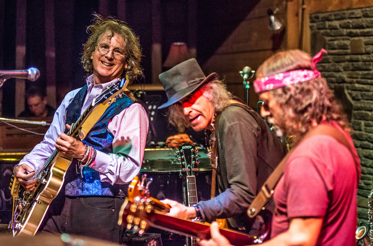 entrepreneur and musician Roger McNamee with band Moonalice