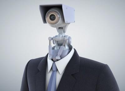 robot in suit representing Parenteeno kid web usage tracking