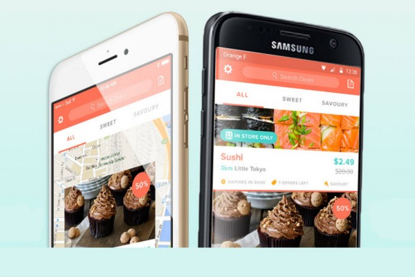 Ubifood app to prevent food waste