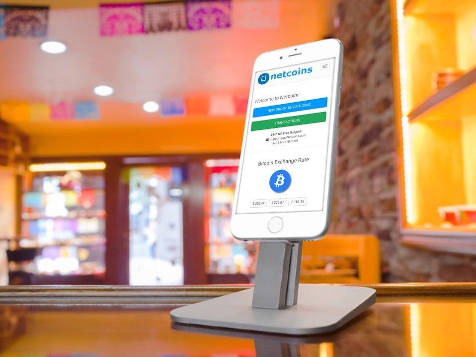 BitCoin ATM via the Netcoins iphone app