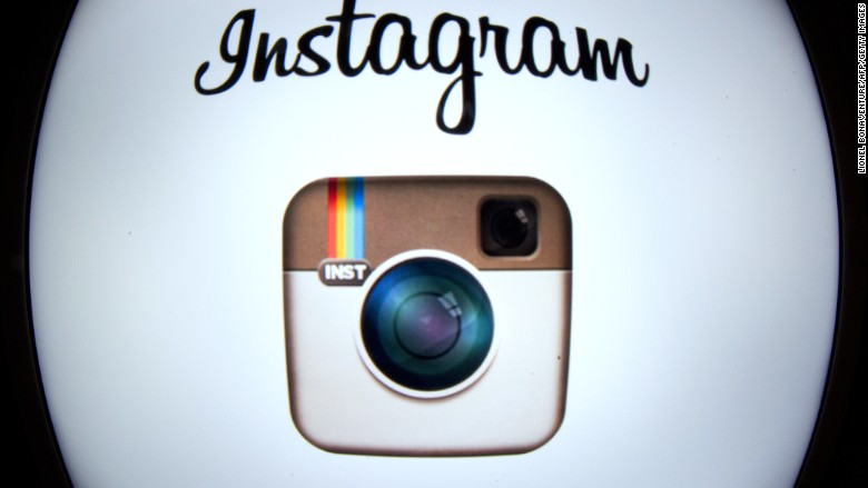 Instagram, which was hacked by a 10 year old boy