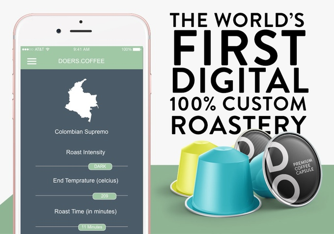 Doers, the world's first digital 100% custom roastery