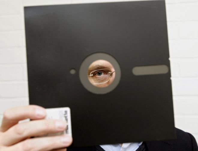 old school technology floppy disk
