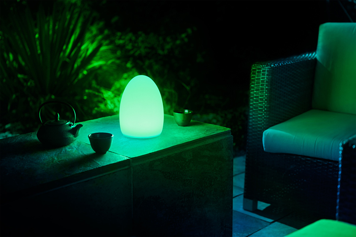 Avea Flare mood light at night