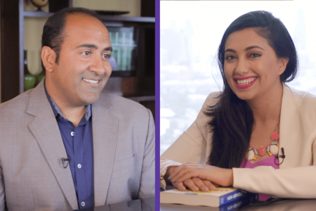 Shama Hyder interviewing author Rohit Bhargava
