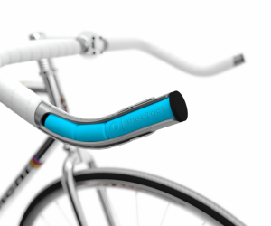 A GPS Anti-Theft Bike Tracker Hidden in the Handlebars
