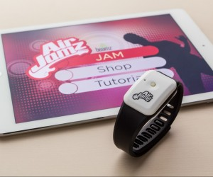 AirJamz Jamz Stick wearable air guitar and iPad app