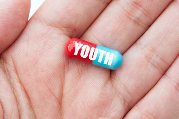 anti-aging technology in the form of a youth pill