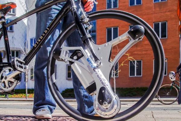 GeoOrbital electric bike wheel