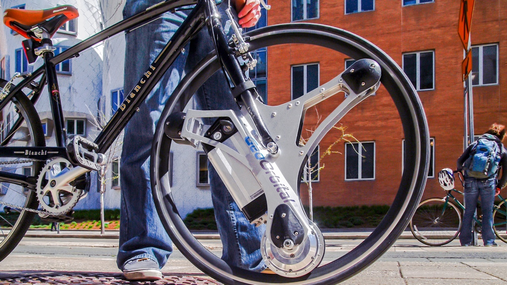 GeoOrbital electric bike wheel