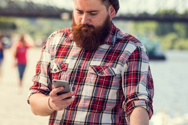 hipster uses Where is Williamsburg app