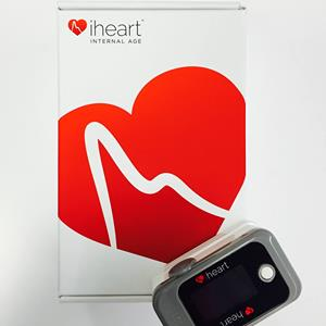 iheart internal age wearable calculator with packaging
