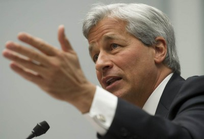 Jamie Dimon, CEO of JP Morgan Chase and former member of the board of directors of the Federal Reserve Bank of New York