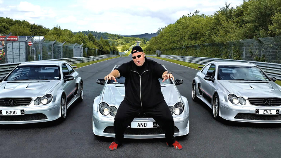 programmer and rapper Kim Dotcom