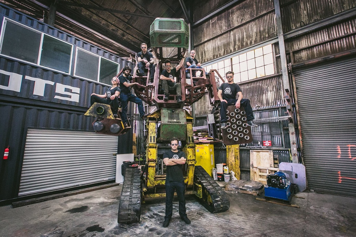 MegaBots Got $2.4 Million To Roll Out A Giant Fighting Robot League
