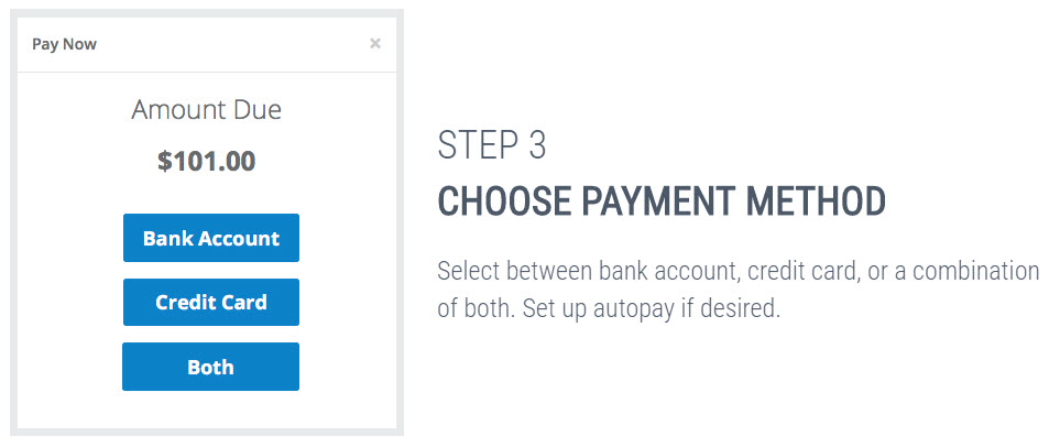 online bill payment with OnePay app