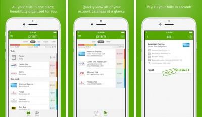 prism bill payment screenshots