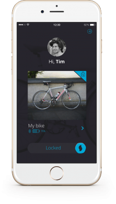 sherlock bike lock app