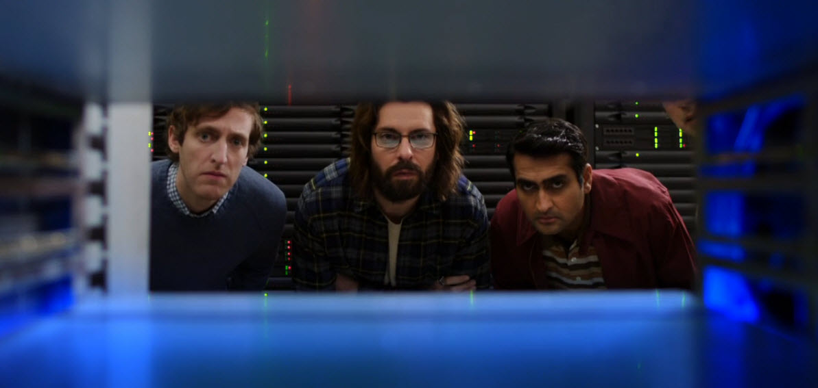 developers on HBO's Silicon Valley look into box