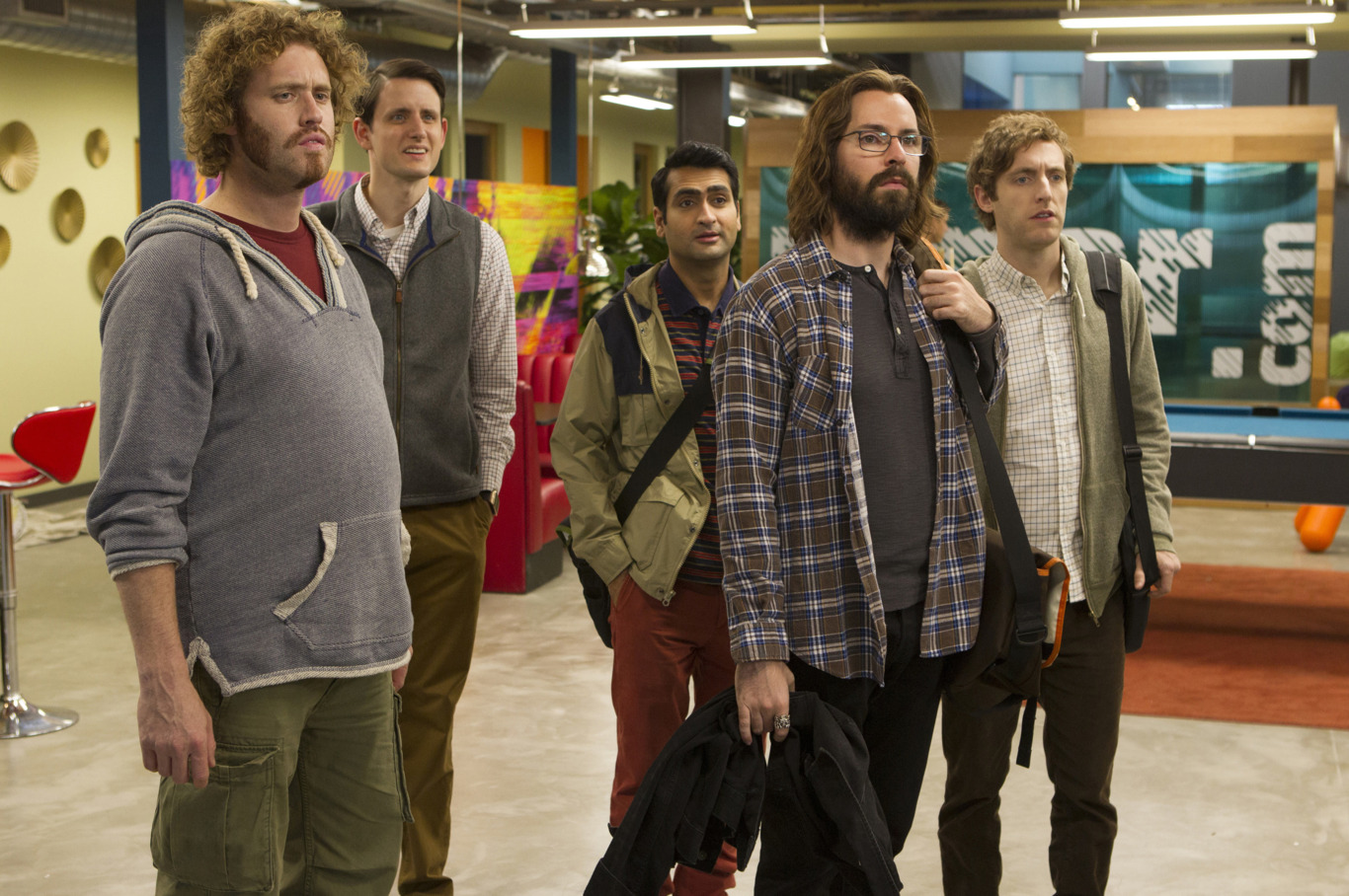 engineering staff of Silicon Valley's Pied Piper