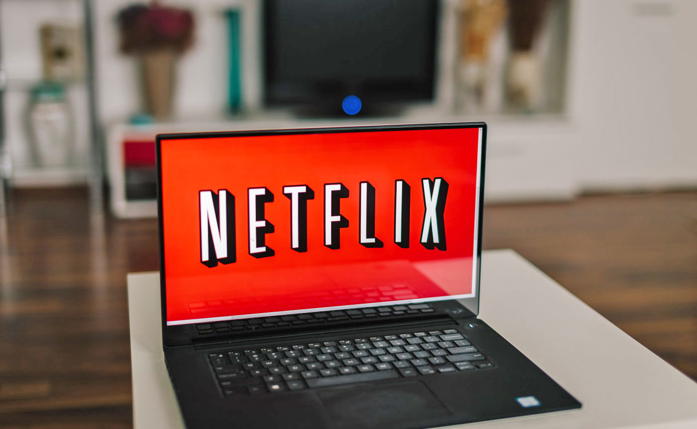Netflix on laptop, where you will be able to stream Disney movies