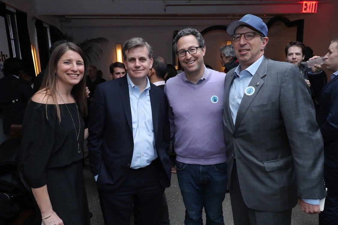 tech titans and entrepreneurs at the Tech:NYC launch party