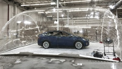 Tesla bioweapon defense air filtration