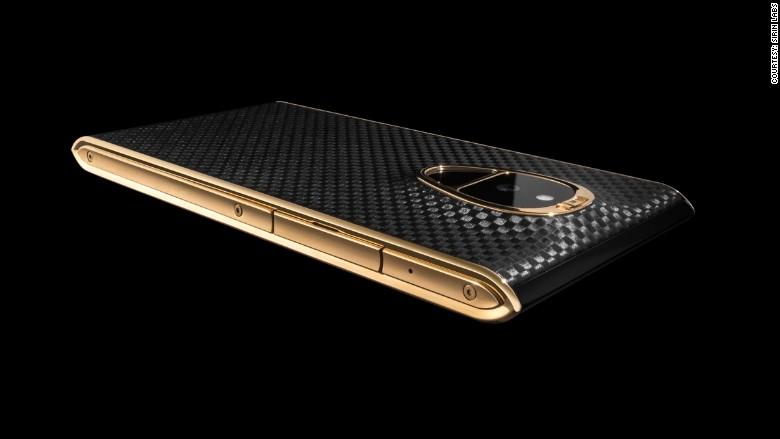 world's most secure smarthphone, the Solarin